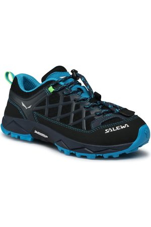 Salewa Jr Wildfire 64007-3847 Ombre Blue/Fluo Green