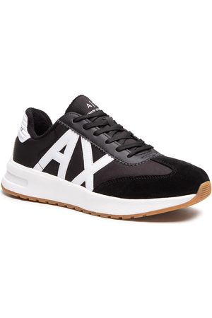 Armani Exchange Herren Halbschuhe - XUX071 XV277 N642 Black/Opt.White