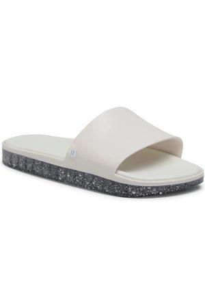 Melissa Beach Slide Next Gen A 32947 White/Glitter Transparent 53885