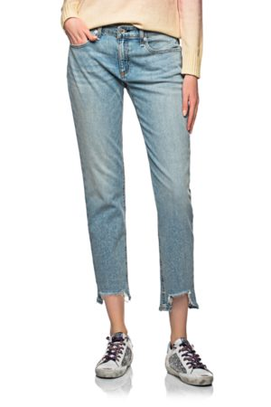 RAG&BONE Dre Low Rise Slim Boyfriend Blue