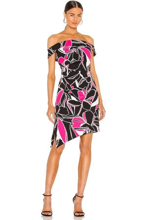Milly Ally Stencil Floral Dress in . Size 4, 2, 6, 8.