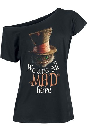 Alice im Wunderland We Are All Mad Here T-Shirt
