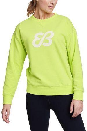 Eddie Bauer Cozy Camp Fleece Logo Sweatshirt Damen Gr. XS