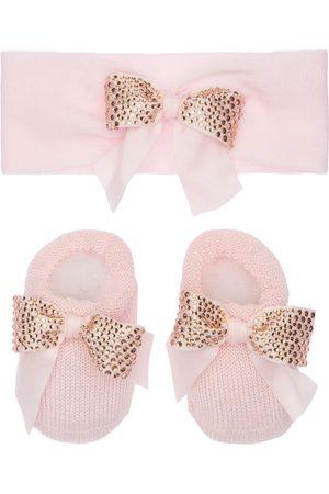 La Perla Haarband Und Socken Aus Bauwollstrick