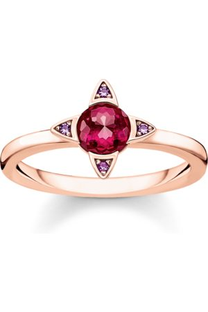 Thomas Sabo Ring Farbige Steine rosé
