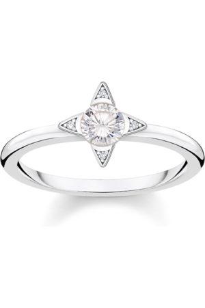 Thomas Sabo Damen Ringe - Ring Weiße Steine silber