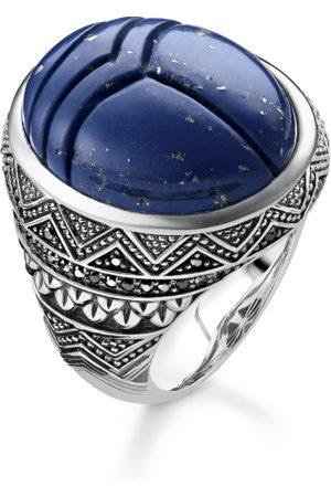 Thomas Sabo Ring blauer Skarabäus