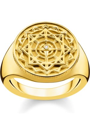 Thomas Sabo Ringe - Ring Vintage Kompass gold