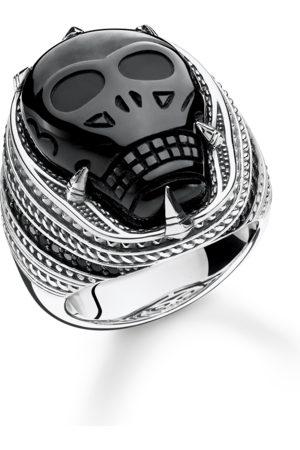Thomas Sabo Ringe - Ring Onyx Totenkopf