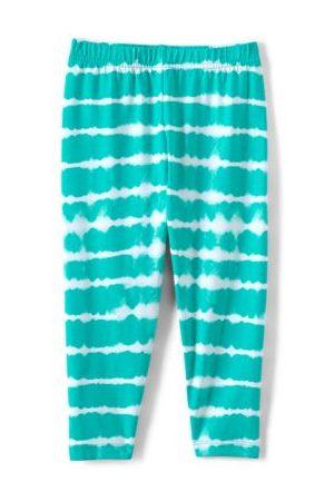 lands end Mädchen Leggings & Treggings - Tough Cotton Capri-Leggings, Größe: 110-116, Blau, Wolle, by Lands' End