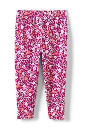 lands end Mädchen Leggings & Treggings - Tough Cotton Capri-Leggings, Größe: 110-116, Pink, Wolle, by Lands' End