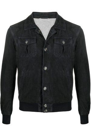 BARBA Herren Lederjacken - Hemdjacke aus Leder