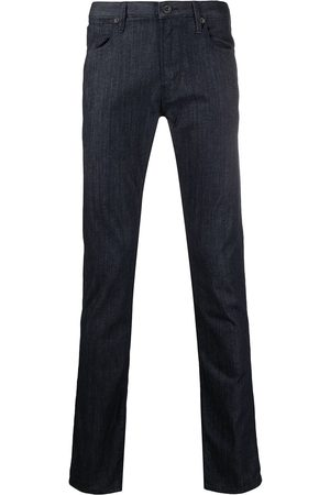 Emporio Armani Dunkle Slim-Fit-Jeans