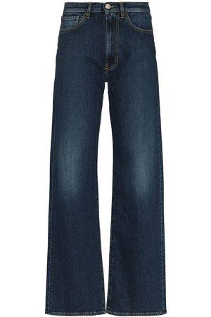 3x1 Damen Straight - Jeans mit hohem Bund