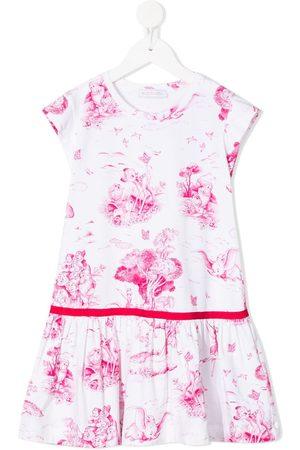 MONNALISA Kleid mit Schneewittchen-Print
