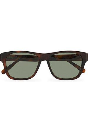 Brioni Herren Sonnenbrillen - BR0081S Sunglasses Havana/Green