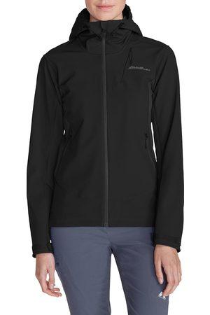 Eddie Bauer Sandstone Shield Jacke mit Kapuze Damen Gr. XS