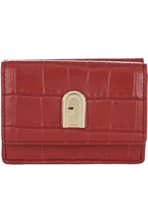 Furla Portemonnaie 1927 Small Compact Trifold Wallet Chili Oil rot