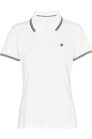 Tory Sport Besticktes Poloshirt aus Piqué