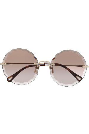 Chloé Damen Sonnenbrillen - Sonnenbrille mit rundem Gestell