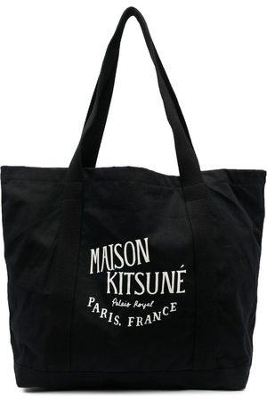 Maison Kitsuné Shopper mit Logo-Print