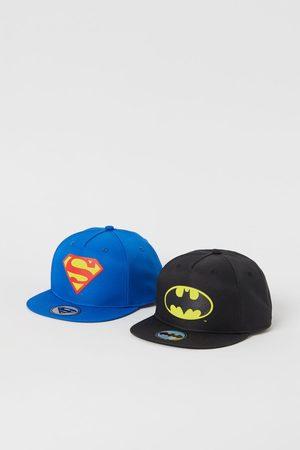 H&M Jungen Caps - 2er-Pack Superhero-Caps