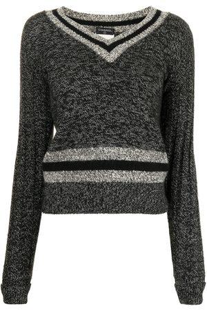 CHANEL Damen Pullover - 1998 Pullover mit V-Ausschnitt