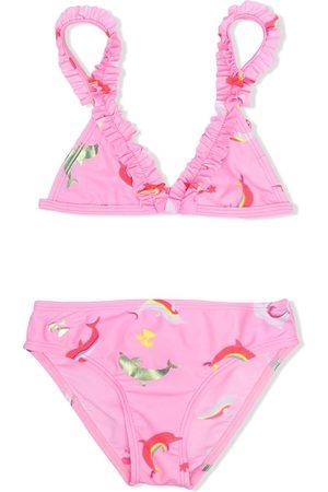 Billieblush Bikini mit Rüschenborten