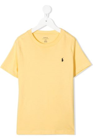Ralph Lauren T-Shirt mit Logo-Stickerei