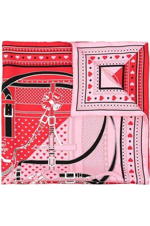 Hermès Damen Schals - 1970s Grand Manege Bandana Love Seidenschal