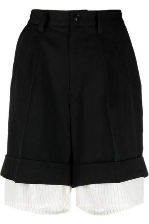Y'S Shorts im Layering-Look