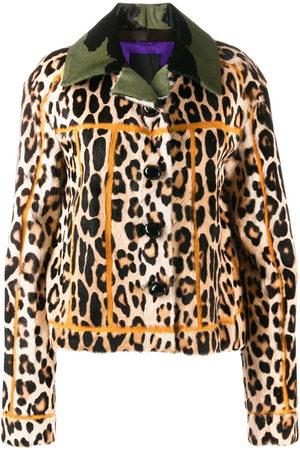 LISKA Jacke mit Leoparden-Print