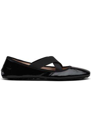 Car Shoe Ballerinas mit elastischem Riemen