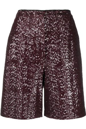In the Mood for Love Knielange Pailletten-Shorts