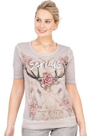 adidas Damen T-Shirts, Polos & Longsleeves - T-Shirt SERVACIA ashes