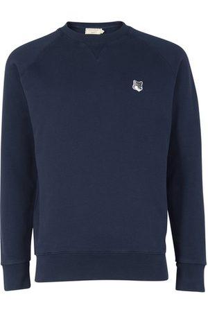 Maison Kitsuné Sweatshirt mit Patch Fox Head