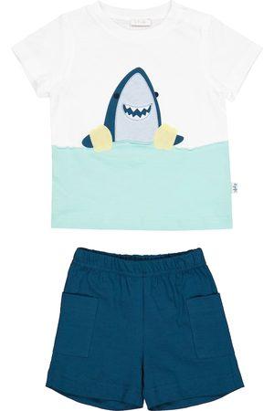Il gufo Baby Set aus T-Shirt und Shorts