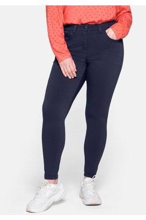 Sheego Stretch-Hose SUSANNE, aus Power-Stretch