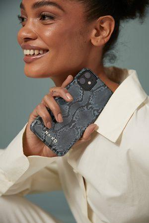 NA-KD Printed Phone Case - Grey