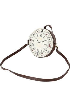 Alice im Wunderland Damen Rucksäcke - Uhr Mini-Rucksack multicolor