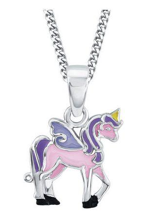 Prinzessin Lillifee Mädchen Halsketten - Kette mit Anhänger Einhorn Rosie, 925er