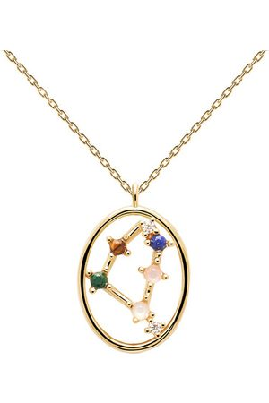 PDPAOLA Damen Halsketten - Halskette Necklace CAPRICORN gold