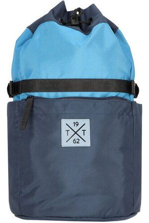 TOM TAILOR Rucksack 43 cm, mixed blue