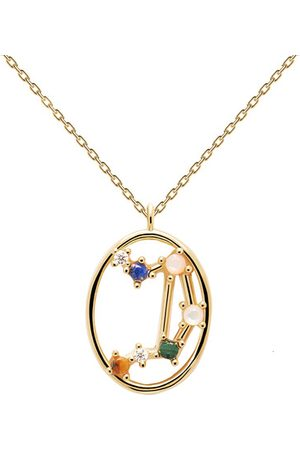 PDPAOLA Halskette Necklace LIBRA gold