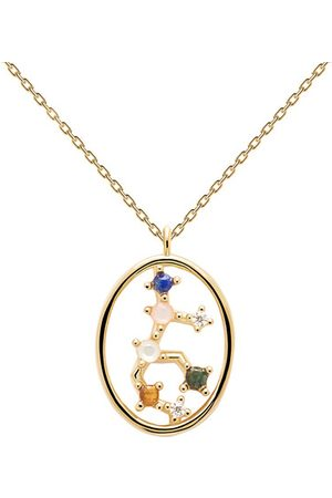 PDPAOLA Halskette Necklace VIRGO gold