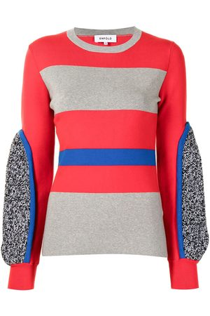 Enföld Damen Strickpullover - Pullover in Colour-Block-Optik