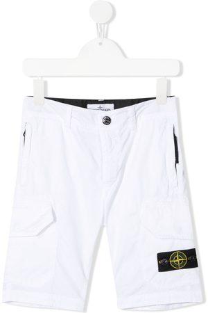Stone Island Jungen Bermuda Shorts - Bermudas mit Logo-Patch