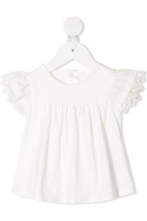 Chloé Baby Blusen - Bluse mit bestickten Borten