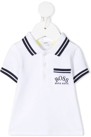 BOSS Kidswear Poloshirt mit Logo-Stickerei