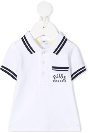 HUGO BOSS Poloshirts - Poloshirt mit Logo-Stickerei